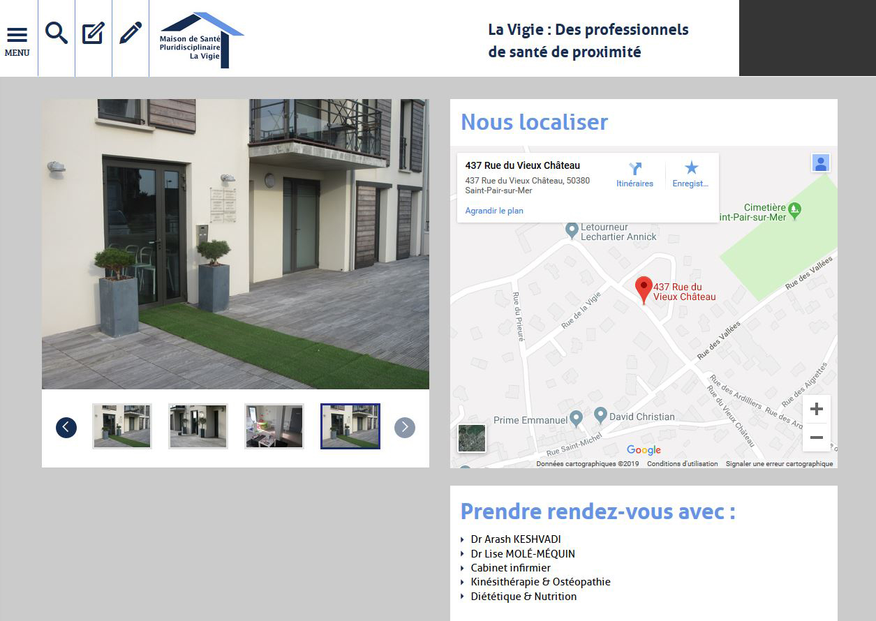 Site MS la Vigie